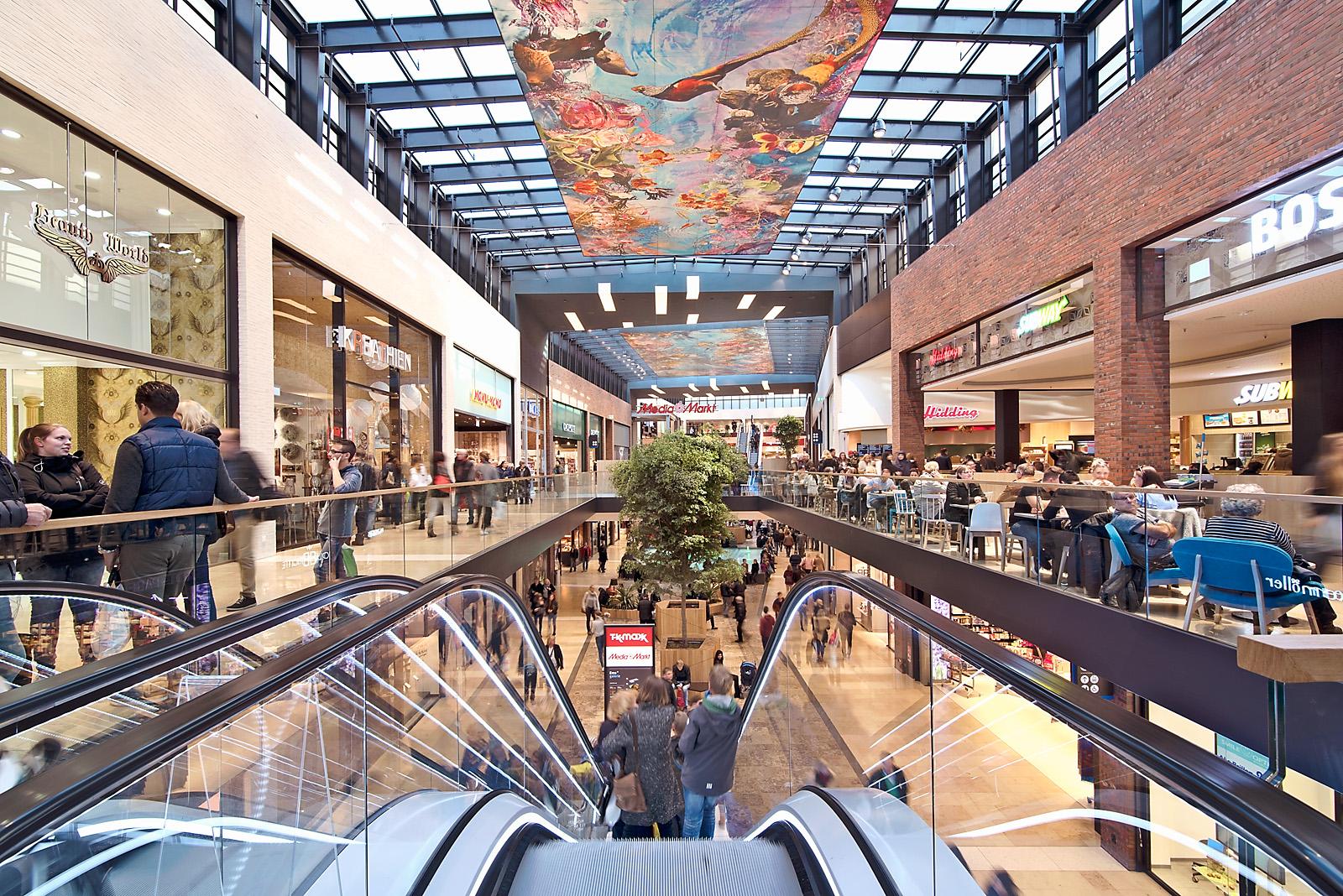 Interieur Inrichting Galerie : Shoppingmall ems galerie rheine normaalkracht